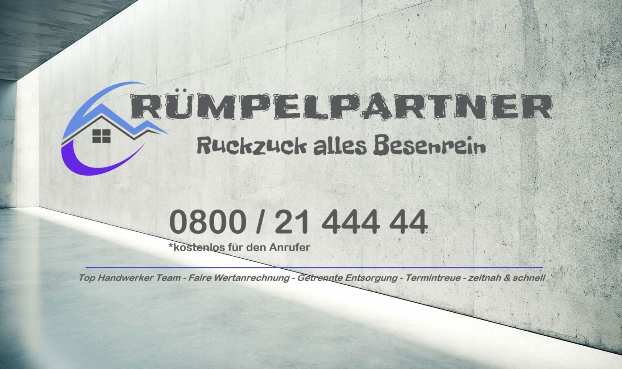 Rümpelpartner® Entrümpelungen - Haushaltsauflösungen